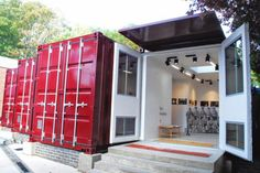 Eltham school creates London's first shipping container gallery (From News Shopper)
