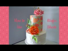 TUTORIAL: How to make perfect edible lace for cakes Rosette Cake Tutorial, Fondant Cake Tutorial, Wafer Paper Flowers, Wafer Paper Cake, Yolanda Cakes, Diy Wedding Cake, Wedding Blog, Edible Lace, Cake Decorating Designs