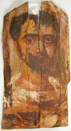 Mummy Portrait UC38062 -The Petrie Museum of Egyptian Archaeology, London.