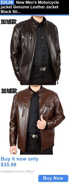 Jacket Leather Men S Coat Motorcycle Vintage Biker All Winter Black Bomber Ww 99