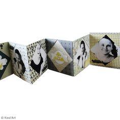 Mini album photo origami - Fiche technique Origami pas à pas, idées et conseils loisirs créatifs - Creavea
