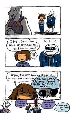 The joke came back to you, Sans!
