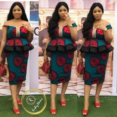 Hello Fashionistas Today we bring you some Amazing And creative Ankara skirt and blouse styles to try out.Ankara skirt and blouse styles That will give you that African Wear Dresses, Latest African Fashion Dresses, African Print Fashion, Africa Fashion, African Attire, Ankara Fashion, African Prints, African Clothes, Korean Fashion