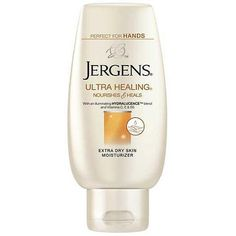 Jergens Ultra Healing Extra Dry Skin Moisturizer, 3 fl oz. Love this stuff. Doesn't smell too strongly, and works well. #1weektogorgeous @JergensUs #ModaVoxBox I got this free from Influenster!