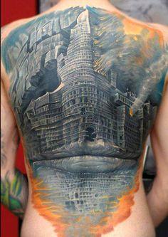 Tattoo done by Bartosz Panas.