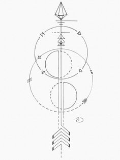 Map Tattoos, Celtic Tattoos, Arrow Tattoos, Body Art Tattoos, Arrow Tattoo Design, Geometric Tattoo Design, Geometric Designs, Single Needle Tattoo, Geometric Arrow