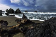 Coos Bay is surrounded by the Pacific shoreline with its beautiful dunes and lovely beaches, plan your vacation today! Oregon Beaches, Coos Bay, Travel Destinations Beach, Beach Town, State Parks, Travel Guide, Vacation, Water, Outdoor