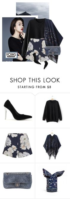 """Yoins 36"" by chebear ❤ liked on Polyvore featuring Finders Keepers, Chanel and yoins"