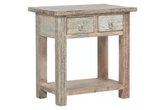 Otb Issa 2-Drawer Table - Signature