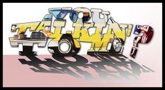 Taxi driver - Digital artwork