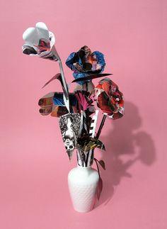 Sarah Illenberger is an illustrator, designer and artist based in Berlin. Paper Flower Wreaths, Paper Flowers, Sarah Illenberger, Paper Art, Paper Crafts, Bunch Of Flowers, Pretty Photos, Nature Prints, Flower Art