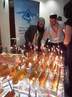 Candle lighting, Shabbat Shalom!