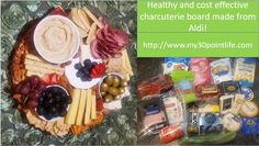 Healthy Aldi Charcuterie Board Healthy Sides, Healthy Options, Healthy Eating Habits, Charcuterie Board, Boards, Snacks, Blog, Life, Planks