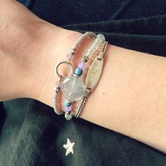 Armparty | handmade silver bracelets with gemstone