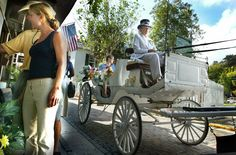 St. Augustine, FL: Cobblestoned streets, European architecture, and horse-drawn carriage rides