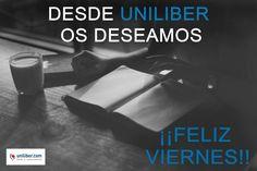 Feliz viernes 18 de noviembre 2026 ¡Desde Uniliber os deseamos un #FelizViernes!, ¿qué vais a leer este fin de semana? Algunas ideas en nuestra home 👉 http://www.uniliber.com