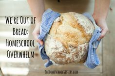 THE HOMESCHOOL SISTERS PODCAST (EPISODE ONE)  We're Out of Bread: Homeschool Overwhelm As homeschooling moms, it can a challenge to balance everything! From homeschooling to laundry to dinner to self-care, it's not uncommon to feel overwhelmed and overextended.  But not to worry, we've got some ideas! From brain dumps and bullet journaling to Cait's Year of Nope, your sisters are on your side. (But out of bread, because life.)