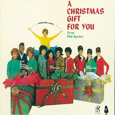 """A Christmas Gift for You, Phil Spector - Hands down, the best holiday album in the history of pop music. Originally issued in 1963 under the title A Christmas Gift for You From Philles Records, it wasn't until the Beatles' Apple label reissued it almost a decade later that these gritty girl-group versions of Yuletide classics were really appreciated. Ronnie Spector of the Ronettes melts """"Frosty the Snowman"""" and takes the innocence out of """"I Saw Mommy Kissing Santa Claus."""""""