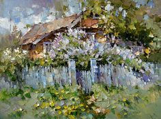 Little house in the lilac