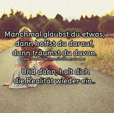 #Manchmal...
