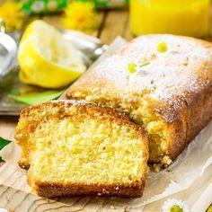 Schneller, saftiger Low Carb Zitronenkuchen