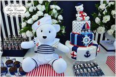 Bolo falso de biscuit urso Marinheiro! | Para maiores inform… | Flickr