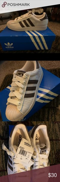 Rare! Vintage Adidas Superstar 2 Vulcanized Hemp Oil Resistant