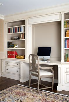 Residence Traditional Home Office Toronto Estee Design Inc