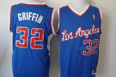 http://www.yjersey.com/nba-clippers-32-griffin-blue-revolution-30-jerseys.html NBA CLIPPERS 32 GRIFFIN BLUE REVOLUTION 30 JERSEYS Only 37.00€ , Free Shipping!