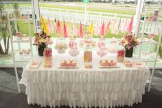 A Pink Day at the Races Birthday Party Ideas | Photo 1 of 49 | Catch My Party