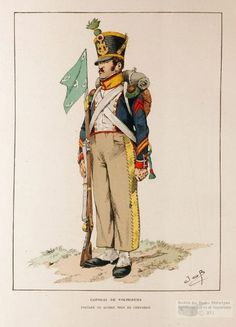 caporal des voltigeurs du 3e régiment d'infanterie de ligne