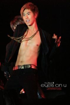 Jung Yun Ho. Really. Those abs.  The fact that its not too obvious makes them even sexier.. :))