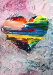 world famous colorful heart painting painting at artistrising