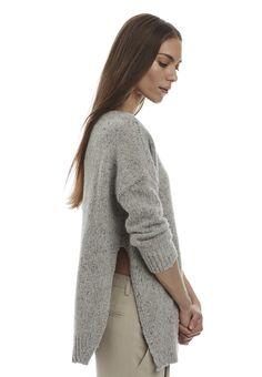 Inhabit Donegal Side-Slit Pullover