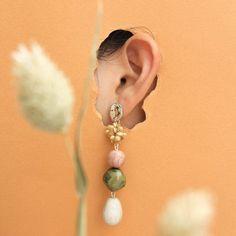Designer Ethnic Handmade Jewelry 925 Solid Sterling Silver Stud Earrings For Women & Girls - Custom Jewelry Ideas Jewelry Model, Photo Jewelry, Fine Jewelry, Geek Jewelry, Jewellery, Gothic Jewelry, Jewelry Necklaces, Earrings Photo, Women's Earrings