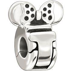 Chamilia Disney Minnie Mouse Lock Bead, $40.00