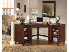 Martin Furniture Beaumont Left L Shaped Desk ❤ Martin Furniture    Distinguished Office   Pinterest   Desks