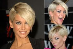 Sarah Harding - So cute. wish I had the guts to do something like this.