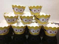 Saia cupcake Minions