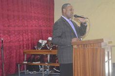 Pastor G speaking