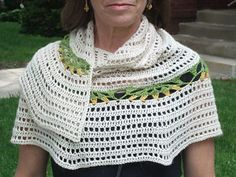 Ravelry: Spring Flowers Shawl pattern by Wendy Easton