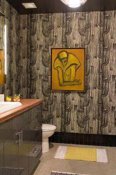 Downtown Los Angeles Lofts - contemporary - Bathroom - Los Angeles - Hunter Kerhart Photography Parlor Room, Downtown Los Angeles, Lofts, Curtains, Shower, Contemporary, Bathroom, Prints, Photography