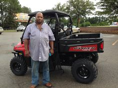 Congratulations to Edward Frost from Gilbertown, AL for purchasing a 2017 Polaris Ranger 570 at Hattiesburg Cycles. #polaris