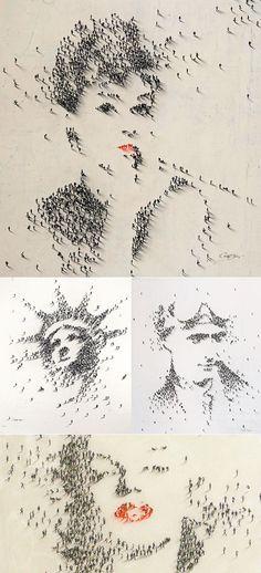 Personas con personas - Ilustraciones, diseño, fotografía y publicidad