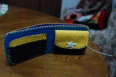 DIY felt wallet