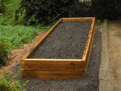 the shape i will need to use for our backyard- about 4 of these, 4' x 8'
