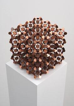 Robert Wechsler's Multifaceted Coin Sculptures | Hi-Fructose Magazine