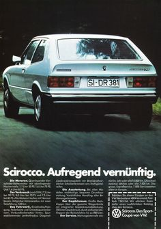 VW Scirocco. My first car. 8/15/78