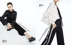 sporty chic #livinginbazaar #februaryissue #harpersbazaarcn #2017 #sporty #chic #sportmax #hermes #saintlaurent #moco #theory #lanvin #fendi #dior  via HARPER'S BAZAAR CHINA MAGAZINE OFFICIAL INSTAGRAM - Fashion Campaigns  Haute Couture  Advertising  Editorial Photography  Magazine Cover Designs  Supermodels  Runway Models