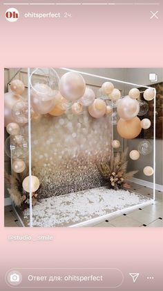 Birthday Balloon Decorations, Diy Party Decorations, Birthday Balloons, Deco Ballon, Wedding Balloons, Party Props, Event Decor, Party Planning, Party Time